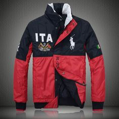 Ralph Lauren Mens Italy Flag Polo Jacket $97.59 for my butters!!