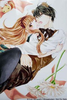 Hanikamu Honey / はにかむハニー / Honey come honey by Shiraishi Yuki ( 熊愛蜂蜜 - 白石由希 ) Honey Come, Manga Anime Girl, Yuki, Hinata, Romance, Comics, Fictional Characters, Romance Film, Romances