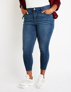 b2057ced07e Plus Size Refuge High Rise Skinny Jeans