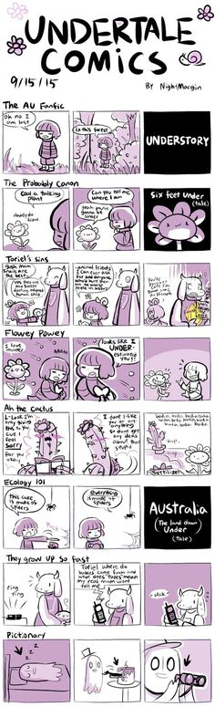 Undertale Comics by NightMargin on DevArt