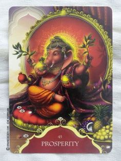 Whispers of Lord Ganesha Oracle cards de Angela Hartfield - Graine d'Eden Développement personnel, spiritualité, guidance, oracles et tarots divinatoires - La bibliothèque des Oracles