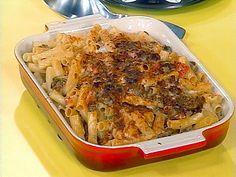 Italian Mac-n-cheese (Rachael Ray).  My kids loved this one!!