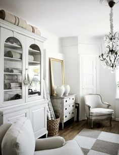 white......there is something so crisp about this room!