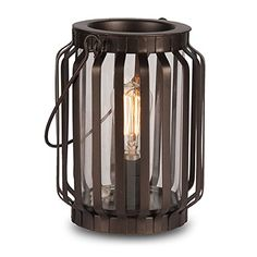 Edison Scout Electric Scented Candle Wax Warmer - One of Our Rustic Candles Holders to Bring Rich Fragrance to Your Home - One of Best Office Decor Products to be Desk or Table Lamp *CLEARANCE ITEM ScentSationals