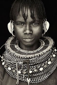 Portraits from Africa – John Kenny Tribes Of The World, People Of The World, African American Artist, African Art, Guerrero Tribal, John Kenny, Tribal Warrior, Tribal People, African Tribes