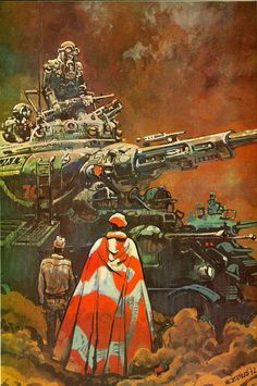 70s Sci-Fi Art: Moebius