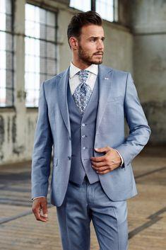 mens wedding suits for sale Blue Suit Wedding, Wedding Tux, Wedding Attire, Wedding Rings, Rustic Groomsmen Attire, Groom Attire, Mode Man, Suits For Sale, Boys Suits