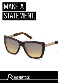 Die perfekt für besondere Anlässe geeignete Rodenstock Sonnenbrille mit dem Wow-Effekt setzt zusammen mit Ihrem schicken Outfit ein Statement. Komplettieren Sie den Look mit Ihrem Lieblingskleid und -schmuck.