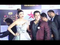 Salman Khan & Daisy Shah At Star Screen Awards 2016.