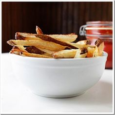 Homemade French Fries AND Homemade Ketchup