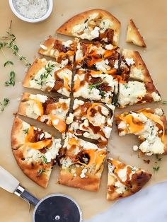 Sweet Potato and Caramelized Onion Pizza - foodiecrush