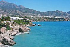 Visiting the lovely Nerja in Spain