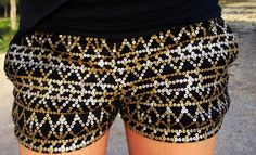 Sequin Shorts♥♥