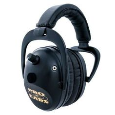 Pro Ears - Predator Gold - Hearing Protection and Amplfication - NRR 26 - Contoured Ear Muffs Electronic Ear Muffs, Ear Protection, Shooting Accessories, Noise Reduction, Cup Design, Deal Today, Earmuffs, Gps Navigation