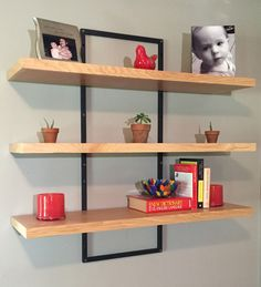 Adjustable Floating Shelves By WildBurl On Etsy Https://www.etsy.com