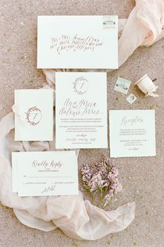 View entire slideshow: Look We Love: Calligraphy on http://www.stylemepretty.com/collection/3669/