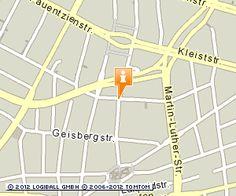 Standort in Berlin: Plissee Onlineshop in Berlin Schöneberg