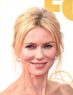 Pin for Later: Zoom In on Every Stunning Beauty Look From the Emmys Red Carpet Naomi Watts