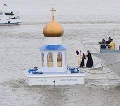 РПЦ на плаву.