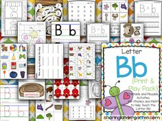 Letter Bb Printables