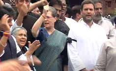Sonia Gandhi to lead Congress march against intolerance to Rashtrapati Bhawan