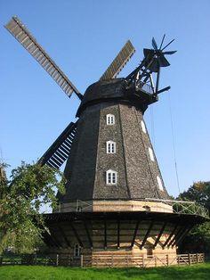 The Britzer Mühle is a windmill (Dutch type) in Berlin-Britz, built in 1866.