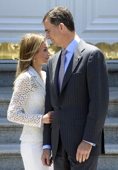 Queen Letizia and King Felipe of Spain