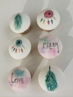 Dream catcher cupcakes - Cake by S K Cakes