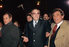 Paul Castellano: Italian-American organized crime hit its stride during the 1930s, a result of several decades of Italian immigration to the United States. Pictured in 1985, Paul Castellano (center, 1915-1985) was the reputed boss of the Gambino crime family in New York City.