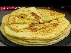 Nici nu veți observa cum vor dispărea de pe masă! Gustarea preferată a întregii familii! | SavurosTV - YouTube Waffles, Pancakes, Pain Pita, Tapas, Russian Recipes, Biscuit Recipe, Antipasto, Potato Recipes, Scones