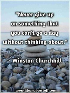 Never give up on something quote. Inspirational quotes | Motivational quotes | Best life quotes.