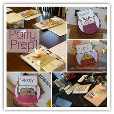 Stampers Bingo Hand Stamped Style goodie bag