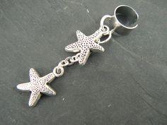 double starfish ear cuff starfish in beach summer by gildedingypsy, $12.50
