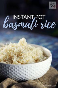 #InstantPot Basmati