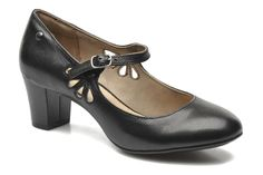 Hush Puppies Imagery Mary Jane High heels in Black at Sarenza.co.uk (192690)