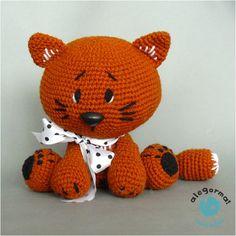 cat!  www.alegorma.com #szydełko, #crochet, #alegorma!