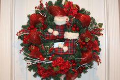 Christmas Wreath by Cindywdesigns on Etsy, $120.00