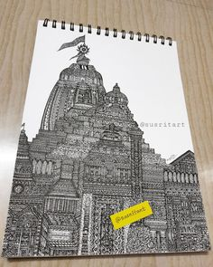 released on eve of by Finally after My Bigseries PURI JAGANNATH TEMPLE microart is completed! Come to Puri of Odisha tomorrow and seeks the blessings of Lord Jagannath and his siblings on the occasion of Pavitra Rath Jatra JAI JAGANNATH . Doodle Art Drawing, Dark Art Drawings, Art Drawings Sketches Simple, Mandala Drawing, Pencil Drawings, Mandala Art Therapy, Mandala Art Lesson, Mandala Artwork, Buddha Kunst