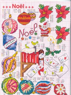 Christmas Cross Stitch.  The website is in Italian but just translate.  She has 299 pages of Christmas designs.  No, I did not go through them all. :-)