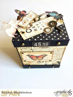 Album Binding Olde Curiosity Shoppe Tutorial by Marina Blaukitchen Product by Graphic 45 photo 18.jpg