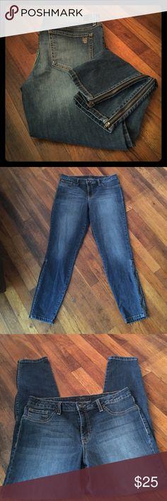 Jessica Simpson Skinny Ankle Zip Jeans Size 32 Jessica Simpson Size 32 Ankle Zip Skinny Jeans Jessica Simpson Jeans Skinny