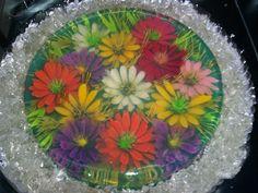 Gelatina Flores de Colores ConceptPARTY