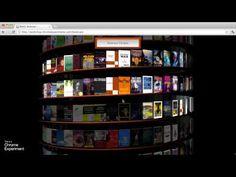 Chrome Experiment - WebGL Bookcase - YouTube