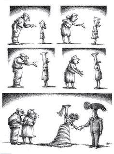 Desde la Plataforma Anti-Patriarcado en facebook e ilustración de Mana Neyestami. Qué opinan al respecto?