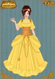 EPBOT: Steampunk Disney Princesses