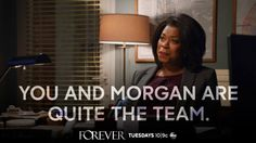 """""""Forever,"""" TUESDAY, (10:00-11:00 p.m., ET), on the ABC Television Network."""