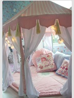 A cool kids fort. Just some ideas.