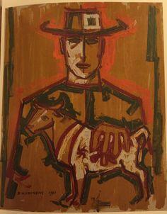 Untitled, 1960.  Visit www.torncanvas.ca
