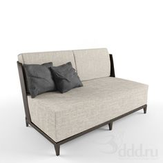 Christian Liaigre 3dsMax 2010 + fbx (Vray) : Sofa : 3dSky - 3d models