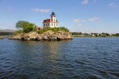 Pomham Rocks E. Providence RI Lighthouse